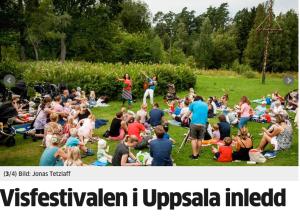 Uppsala visfestival i Marielund